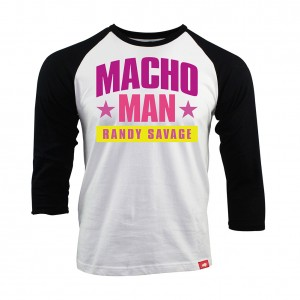 Macho Man Randy Savage Sportiqe Raglan Shirt