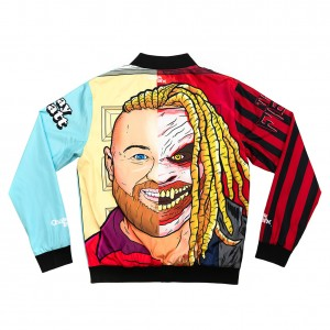 "Bray Wyatt ""Funhouse & The Fiend"" Fanimation Chalk Line Jacket"