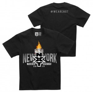 NXT TakeOver NY Logo Youth T-Shirt