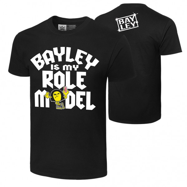 """Bayley """"I'm a Role Model"""" Authentic T-Shirt"""