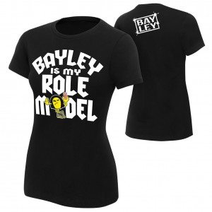 "Bayley ""I'm a Role Model"" Women's Authentic T-Shirt"