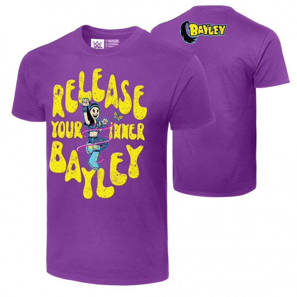"""Bayley """"Release Your Inner Bayley"""" Authentic T-Shirt"""