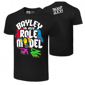 "Bayley ""Bayley is My Role Model"" Authentic T-Shirt"