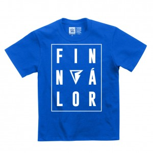 "Finn Bálor ""Balor"" Blue Youth T-Shirt"