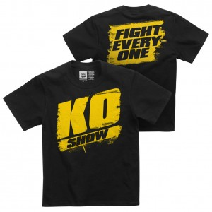 """Kevin Owens """"KO Show"""" Youth Authentic T-Shirt"""