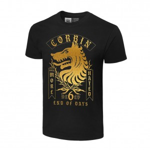 "King Corbin ""None More Hated"" Authentic T-Shirt"