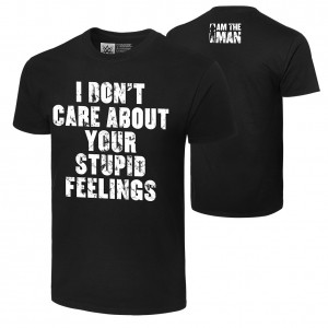 "Becky Lynch ""I Don't Care About Your Feelings"" Authentic T-Shirt"