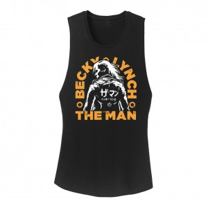 "Becky Lynch ""The Man"" Katakana  Women's Tank Top"