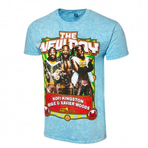 "The New Day ""New Champ"" Mineral Wash T-Shirt"