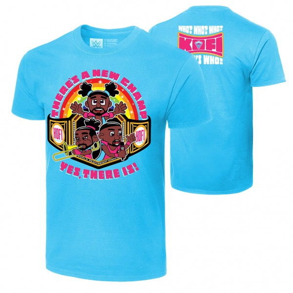 "The New Day ""There's A New Champ"" Authentic T-Shirt"