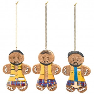 The New Day Gingerbread Ornament Set