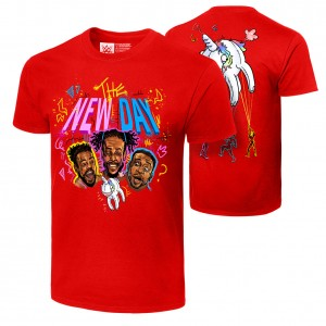 "The New Day ""Unicorn Balloon"" Authentic T-Shirt"