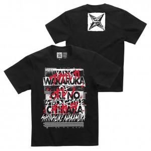 """Shinsuke Nakamura """"Wakaruka Ore No Chikara"""" Youth Authentic T-Shirt"""