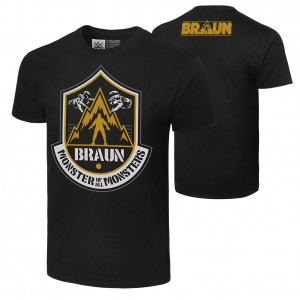 "Braun Strowman ""The Monster of All Monsters"" Authentic T-Shirt"