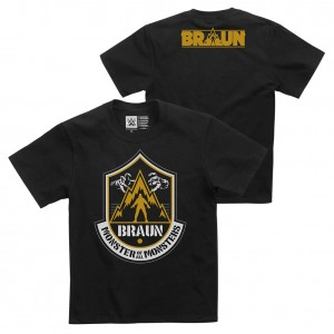 """Braun Strowman """"The Monster of All Monsters"""" Youth Authentic T-Shirt"""