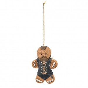 Aleister Black Gingerbread Ornament