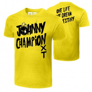 "Johnny Gargano ""Johnny Champion"" Authentic T-Shirt"