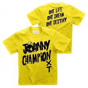 "Johnny Gargano ""Johnny Champion"" Youth Authentic T-Shirt"