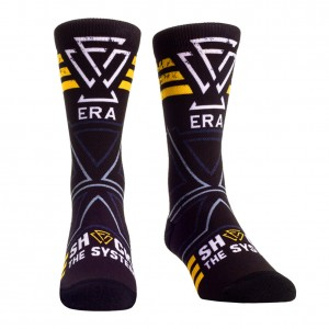 "Undisputed Era ""Shock The System"" Rock 'Em Socks"