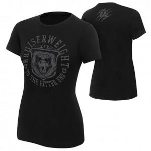 """Pete Dunne """"Bruiserweight Bear"""" Women's Authentic T-Shirt"""