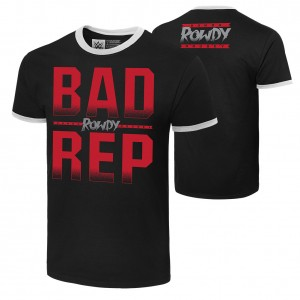 "Ronda Rousey ""Bad Rep"" Authentic T-Shirt"