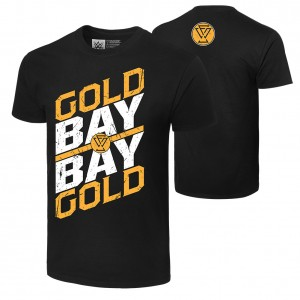 "Adam Cole ""Gold Gold Bay Bay"" Authentic T-Shirt"