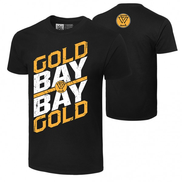 """Adam Cole """"Gold Gold Bay Bay"""" Authentic T-Shirt"""