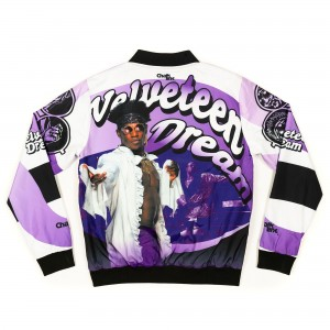 Velveteen Dream Fanimation Chalk Line Jacket