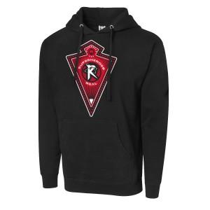 """Ricochet """"Superheroes R Real"""" Pullover Hoodie Sweatshirt"""