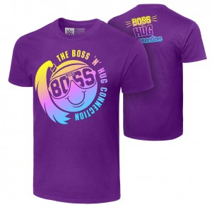 "Boss 'n' Hug Connection ""Smiley Face"" Authentic T-Shirt"