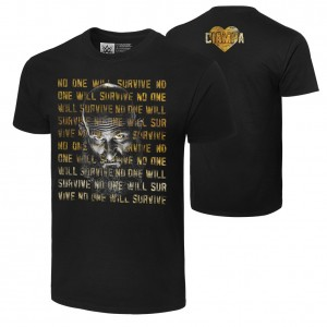 "Tommaso Ciampa ""No One Will Survive"" Authentic T-Shirt"