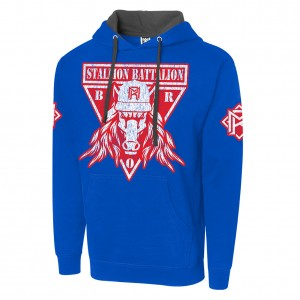 "Matt Riddle ""Stallion Battalion"" Pullover Hoodie Sweatshirt"