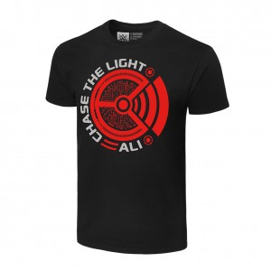 """Ali """"Chase the Light"""" Authentic T-Shirt"""