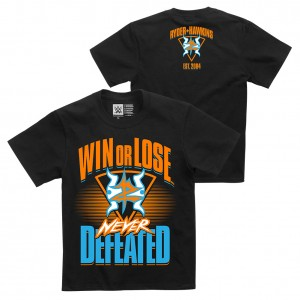 "Zack Ryder & Curt Hawkins ""Never Defeated"" Youth Authentic T-Shirt"