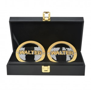 Walter NXT UK Championship Replica Side Plate Box Set