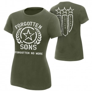 "Forgotten Sons ""Forgotten No More"" Women's Authentic T-Shirt"
