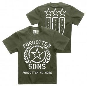 "Forgotten Sons ""Forgotten No More"" Youth Authentic T-Shirt"