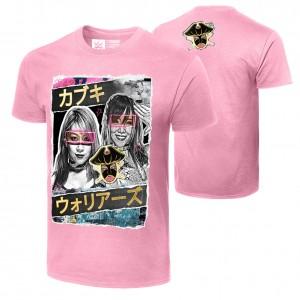 "Asuka & Kairi Sane ""The Kabuki Warriors"" Authentic T-Shirt"