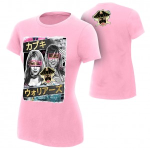 "Asuka & Kairi Sane ""The Kabuki Warriors"" Women's Authentic T-Shirt"