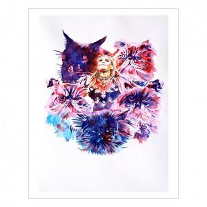 Natalya 11 x 14 Rob Schamberger Art Print
