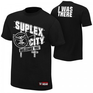 "Brock Lesnar ""Suplex City Welcomes You"" Authentic T-Shirt"