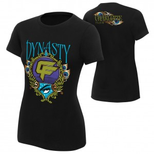 """Charlotte Flair """"Dynasty"""" Women's Authentic T-Shirt"""