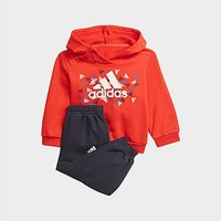adidas Badge of Sport Graphic Jogger - Vivid Red