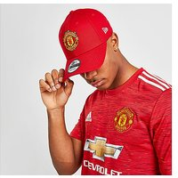 New Era 9FORTY Manchester United Adjustable Cap - Red