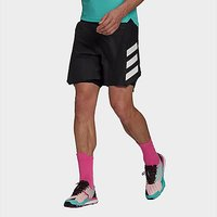 adidas Terrex Agravic Two-in-One Shorts - Black  - Mens