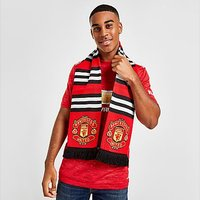 Official Team Manchester United FC Stripe Scarf – Red