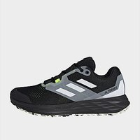 adidas Terrex Two Flow Trail Running Shoes - Core Black  - Mens